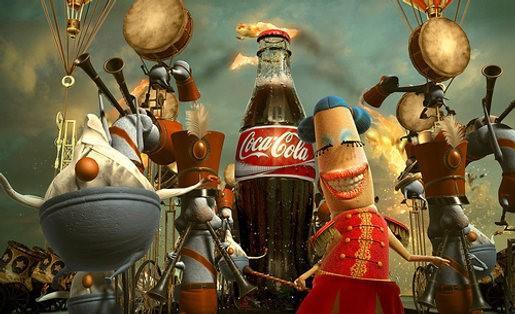 coca cola commercial