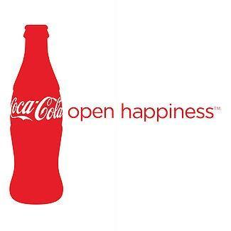 red bottle of Coke